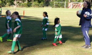 Girls U6 and U7 Sunday Games